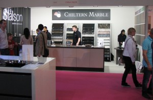 Chiltern Marble hosted the Italian Porphyry Company on their stand together with Stalson - 100% stainless steel faucets.